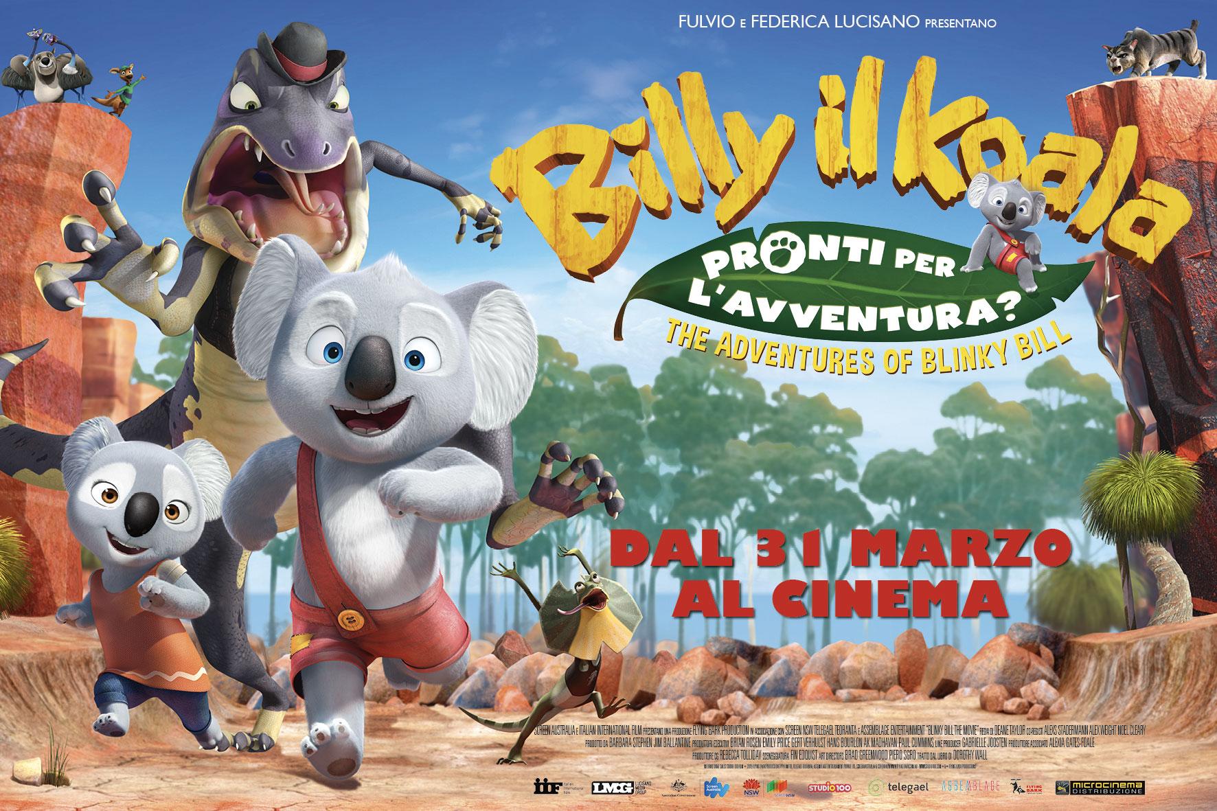 In arrivo al cinema billy il koala